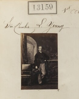 Sir Charles Lawrence Young, 7th Bt, by Camille Silvy - NPG Ax62800