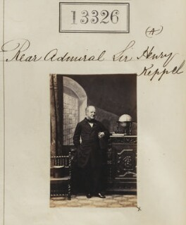 Sir Henry Keppel, by Camille Silvy - NPG Ax62959
