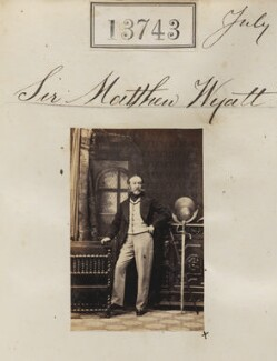 Sir Matthew Wyatt, by Camille Silvy - NPG Ax63374
