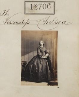 Mary Sarah (née Wellesley), Countess Cadogan, by Camille Silvy - NPG Ax62349