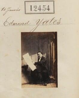 Edmund Hodgson Yates, by Camille Silvy - NPG Ax62103
