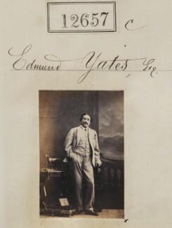 Edmund Hodgson Yates, by Camille Silvy - NPG Ax62301
