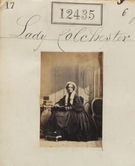 Elizabeth Susan (née Law), Lady Colchester, by Camille Silvy - NPG Ax62084