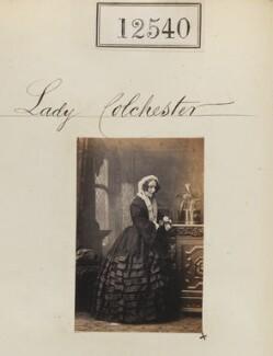 Elizabeth Susan (née Law), Lady Colchester, by Camille Silvy - NPG Ax62189