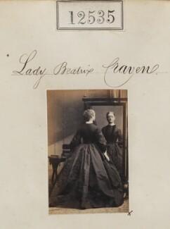 Beatrix Jane (née Craven), Countess Cadogan, by Camille Silvy - NPG Ax62184