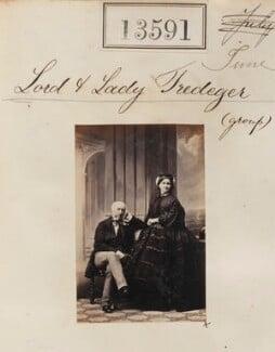 Charles Morgan Robinson Morgan, 1st Baron Tredegar; Rosamund (née Mundy), Lady Tredegar, by Camille Silvy - NPG Ax63224