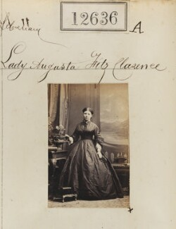 Lady Augusta Fitzclarence (née Boyle), by Camille Silvy - NPG Ax62280