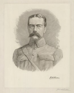 Herbert Kitchener, 1st Earl Kitchener, by Frank Willis - NPG D36893