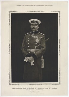 Herbert Kitchener, 1st Earl Kitchener, published by Illustrated London News, after  Bourne & Shepherd - NPG D36894