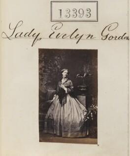 Evelyn Elizabeth (née Gordon), Countess of Ancaster, by Camille Silvy - NPG Ax63026