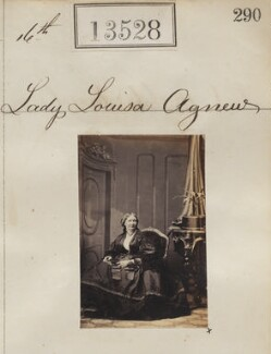 Lady (Mary Arabella) Louisa Agnew (née Noel), by Camille Silvy - NPG Ax63161