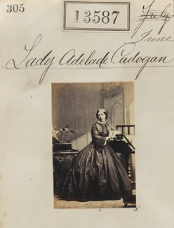 Lady Adelaide Cadogan (née Paget), by Camille Silvy - NPG Ax63220
