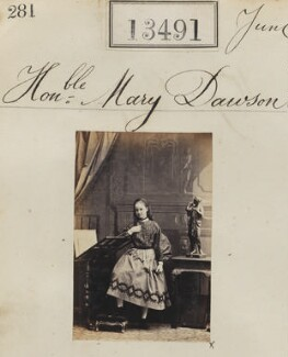 Mary Eleanor Anne (née Dawson), Countess of Ilchester, by Camille Silvy - NPG Ax63124