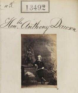 Anthony Lucius Dawson, 3rd Earl of Dartrey, by Camille Silvy - NPG Ax63125