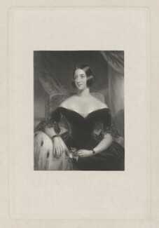Mrs Knatchbull, by William Henry Egleton, after  John Wood - NPG D36897