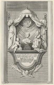 Sir Godfrey Kneller, Bt, by Nathaniel Parr, after  Hubert-François Gravelot (né Bourguignon), early 18th century - NPG D36902 - © National Portrait Gallery, London