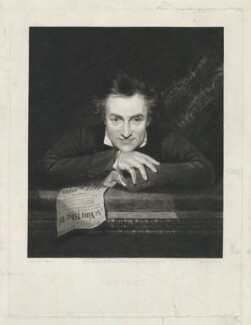 Edward Knight, by Henry Edward Dawe, published by  William Cribb, after  John Prescott Knight - NPG D36903