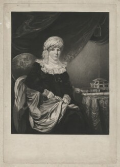 Selina Gally Knight (née Fitzherbert), by Samuel William Reynolds, after  Henry Edridge - NPG D37102