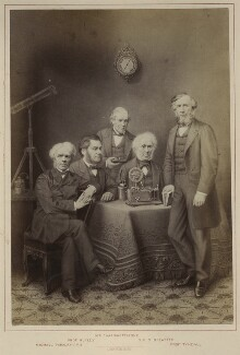 'Scientists', published by Hughes & Edmonds, published 1876 - NPG Ax132901 - © National Portrait Gallery, London