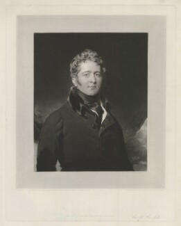 Sir William Knighton, 1st Bt, by and published by Charles Turner, after  Sir Thomas Lawrence - NPG D37110
