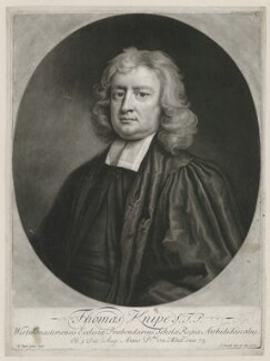 Thomas Knipe, by and published by John Smith, after  Michael Dahl - NPG D37111