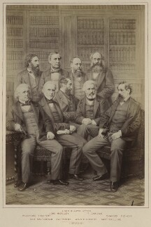 Authors and Novelists, published by Hughes & Edmonds, published 1876 - NPG Ax132899 - © National Portrait Gallery, London