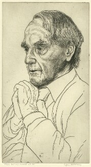 Henry Moore, by Edgar Holloway - NPG D37804