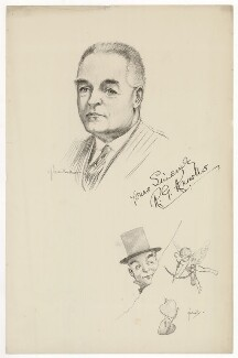 R.G. Knowles, after Howard van Dusen, after  John Hassall - NPG D37113
