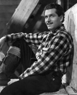 Laurence Kerr Olivier, Baron Olivier in '49th Parallel', by Fred Daniels - NPG x88682