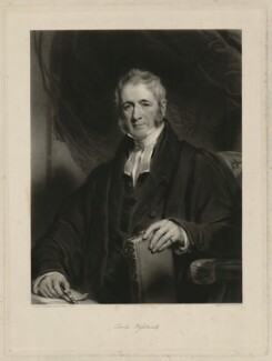 Charles Wightwick, by Henry Cousins, after  Sir Martin Archer Shee - NPG D37502