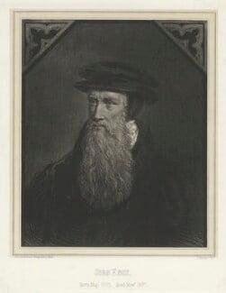 John Knox, by Louis Joseph Ghémar, for  Schenck & Ghémar, after  Adrian Vanson (van Son) - NPG D37115