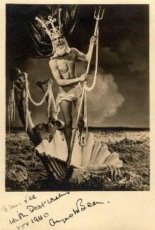 Angus McBean as Neptune, by Angus McBean, 1939 - NPG x39301 - © estate of Angus McBean / National Portrait Gallery, London