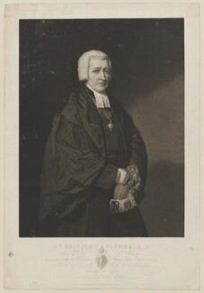 John Fisher, by Thomas Hodgetts, after and published by  George Dawe, published 10 June 1818 - NPG D36933 - © National Portrait Gallery, London