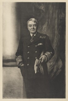 John Arbuthnot Fisher, 1st Baron Fisher, after Sir Hubert von Herkomer, 1911 or after - NPG D36934 - © National Portrait Gallery, London