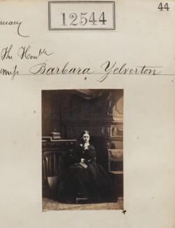 Barbara (née Yelverton), Lady Churston, by Camille Silvy - NPG Ax62193