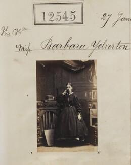 Barbara (née Yelverton), Lady Churston, by Camille Silvy - NPG Ax62194