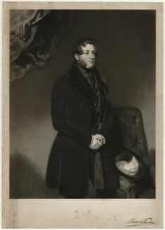 Hon. Richard Bootle-Wilbraham, by Henry Cousins, published by  Thomas Agnew, after  John Bostock - NPG D37517