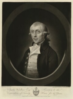 Charles Wildbore, by John Jones, published by  Gainsborough Dupont, after  Thomas Spence Duché - NPG D37518