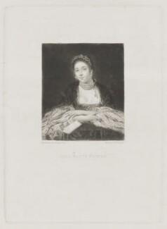 Kitty Fisher, by Samuel William Reynolds, after  Sir Joshua Reynolds, published 1834 - NPG D36936 - © National Portrait Gallery, London