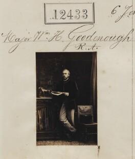 Sir William Howley Goodenough, by Camille Silvy - NPG Ax62082