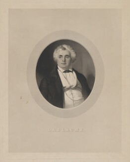 Luigi Lablache, by John Henry Robinson, published by  Ernest Gambart & Co, after  Thomas Heathfield Carrick - NPG D37123