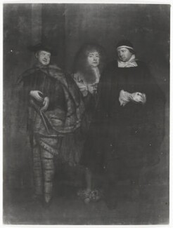 John Lacy in 3 of his roles, after John Michael Wright - NPG D37127
