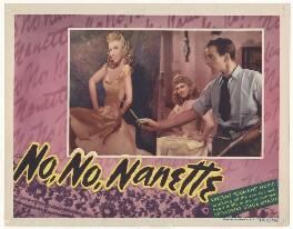Anna Neagle; Richard Carlson in 'No, No, Nanette', by Unknown artist - NPG D37702
