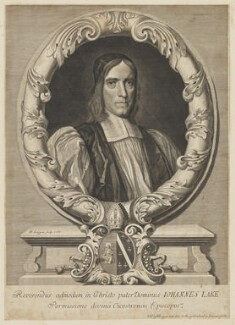 John Lake, by and published by David Loggan - NPG D37133