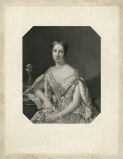 Lady Lydia Gundred Besant (née Lambart), by John Henry Robinson, published by  Joseph Hogarth, after  Thomas Heathfield Carrick - NPG D37135