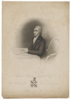 Aylmer Bourke Lambert, by and published by Messrs Weddell, after  Henry Edridge - NPG D37138