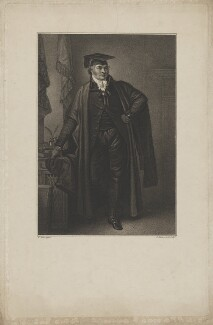 Mr Lambert ('A Master of Arts in his Usual Dress'), by Luigi Schiavonetti, after  William Miller - NPG D37139