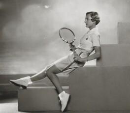 Helen Hull Jacobs, by Dorothy Wilding - NPG x132900