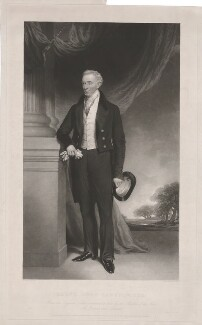 Ralph John Lambton, by John Porter, printed by  Lahee & Co, published by  Hodgson & Graves, published by  Currie & Bowman, after  Sir Francis Grant - NPG D37142