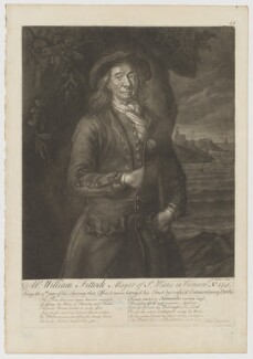 William Fittock, after Nathaniel Tucker, 1741 or after - NPG D36937 - © National Portrait Gallery, London